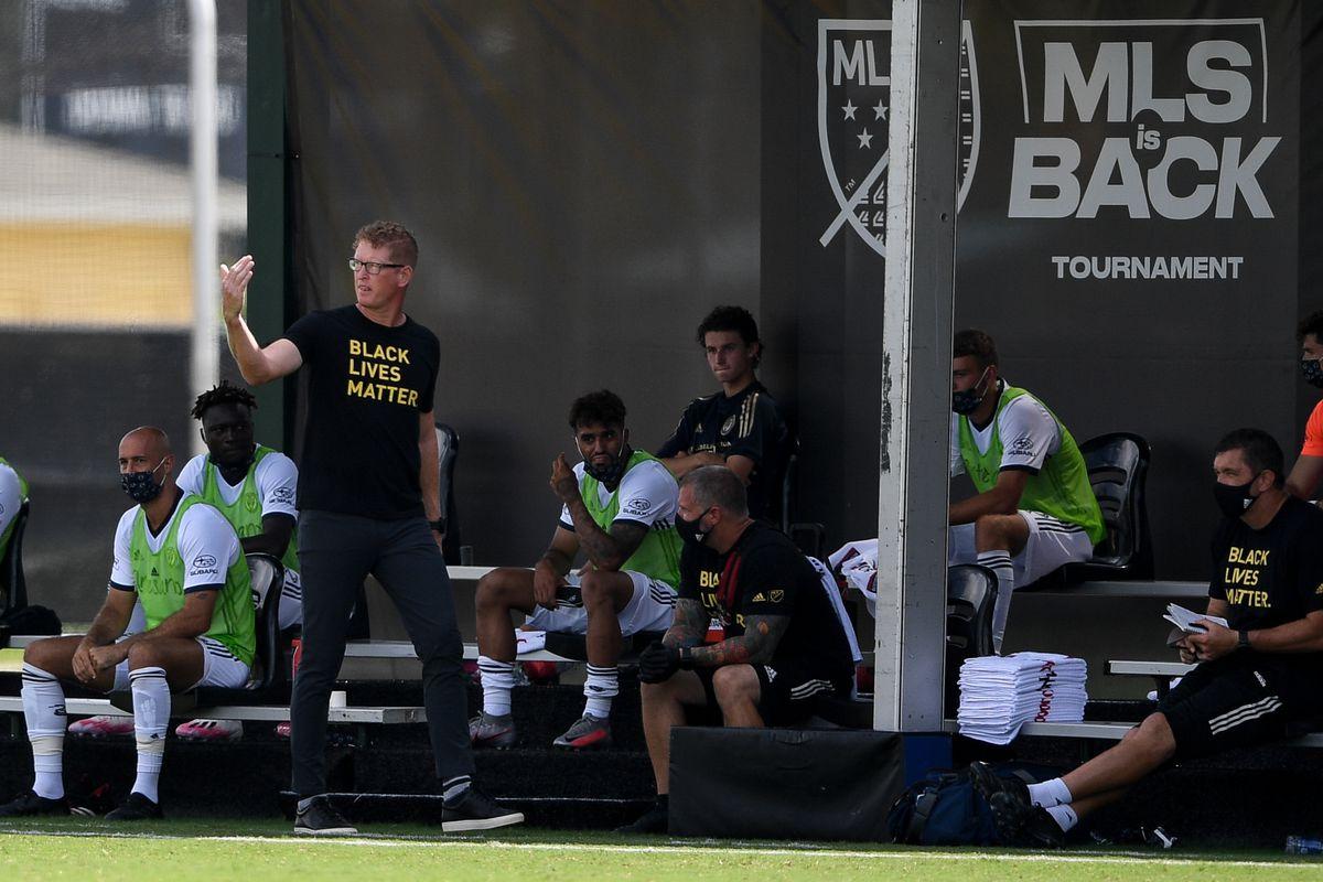 New York City FC v Philadelphia Union - MLS Is Back Tournament
