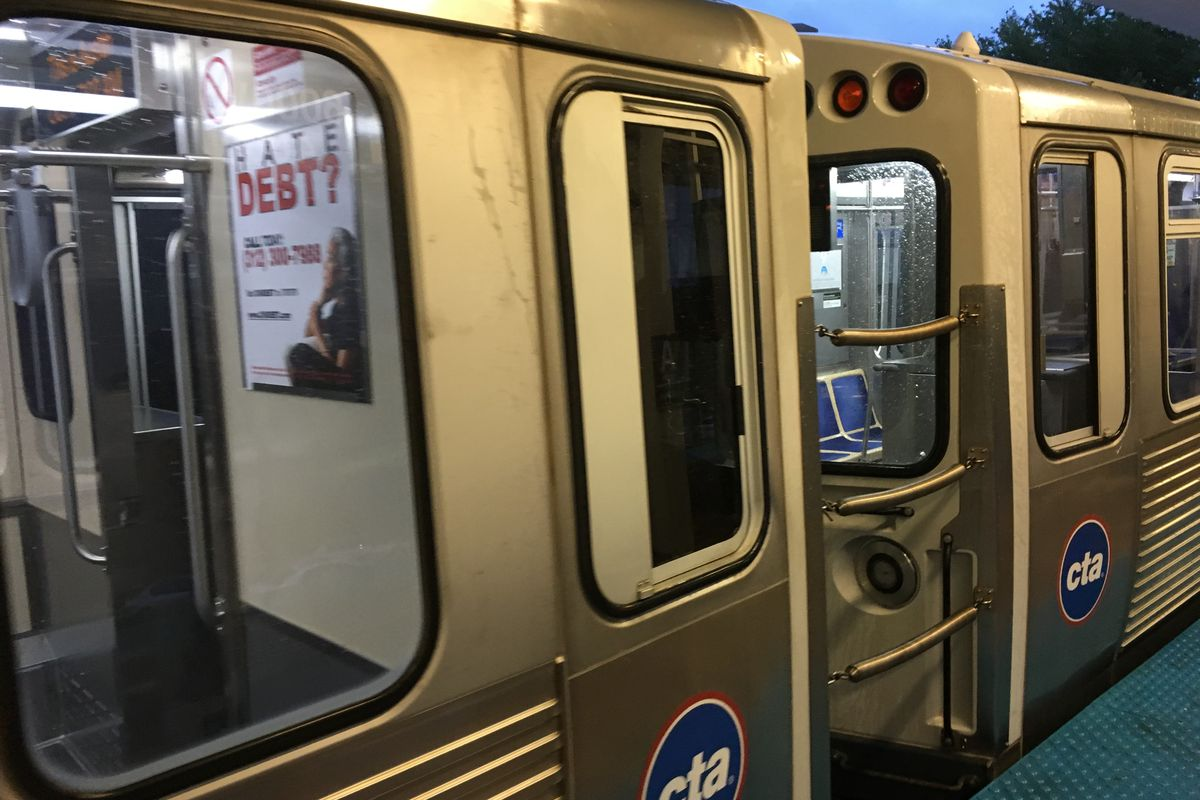 CTA Blue Line riders robbed on West Side trains and platforms : police