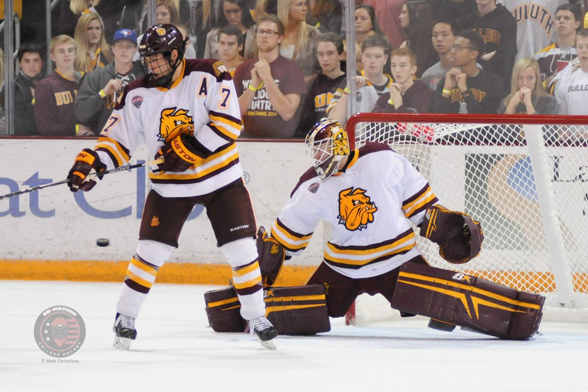 UMD's Kasimir Kaskisuo and Andy Welinski at this point could be honorary Big Ten members.