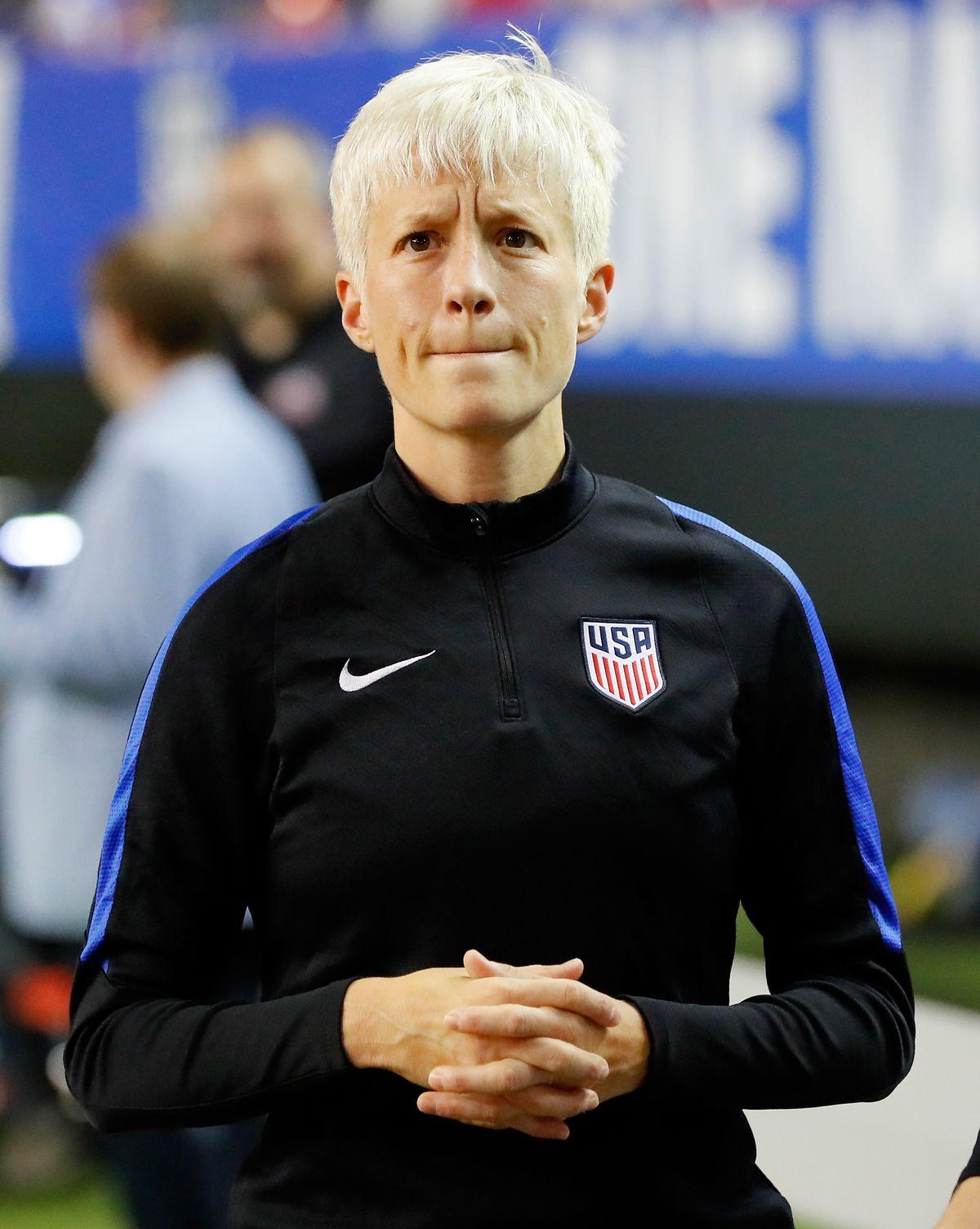 Megan Rapinoe of U.S. Soccer