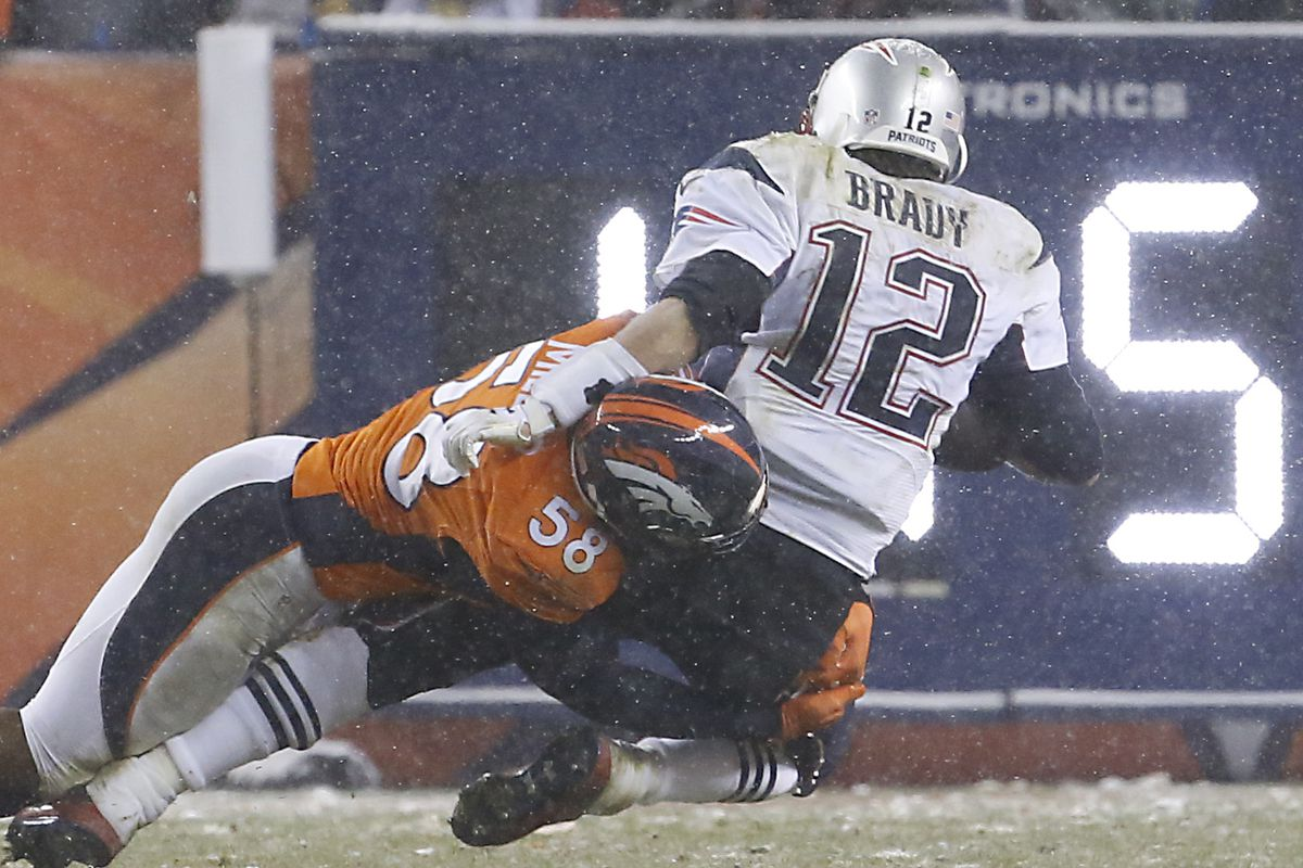 New England Patriots Vs. Denver Broncos At Sports Authority Field At Mile High