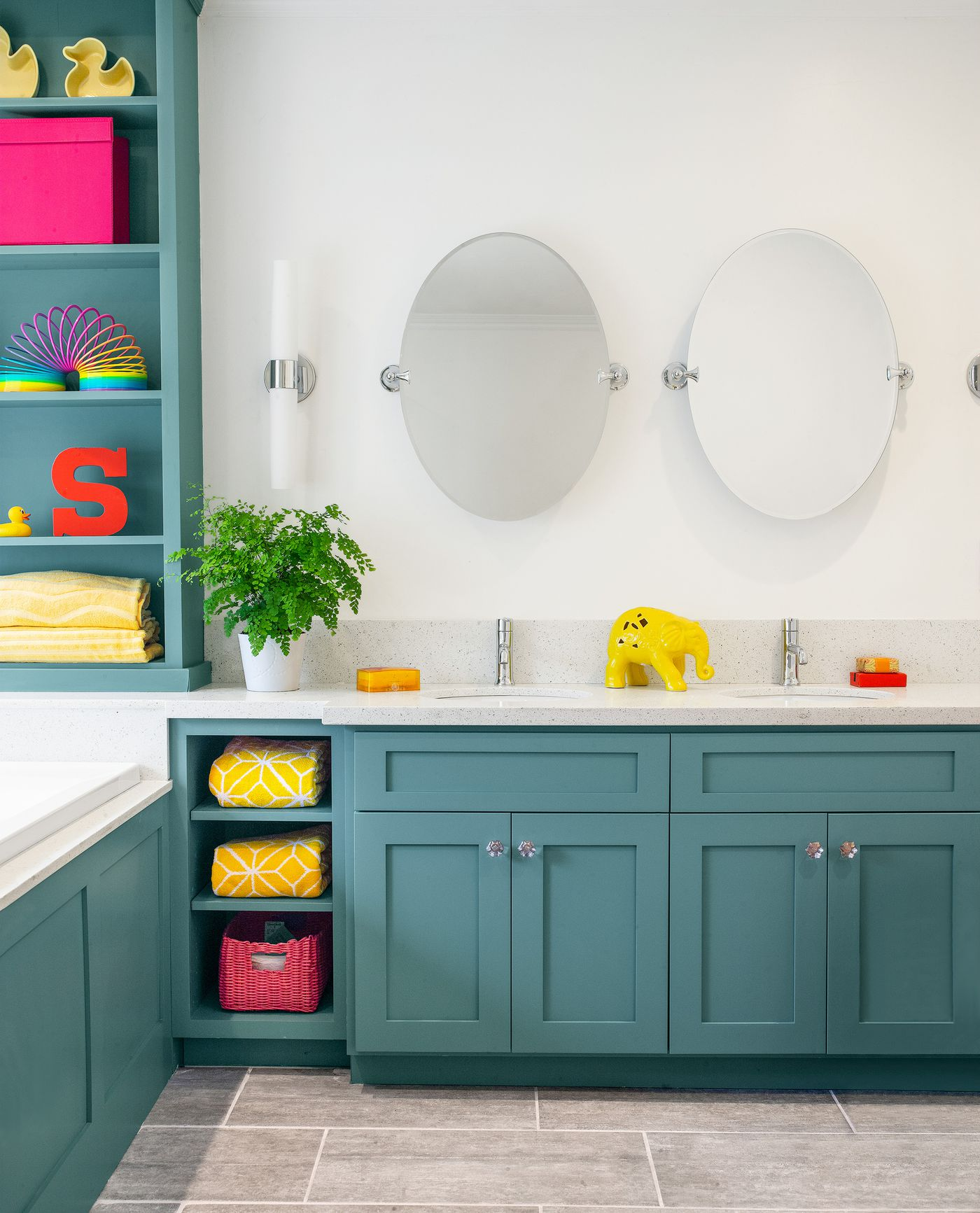 Before And After Bath A Versatile Kid Friendly Space This Old House