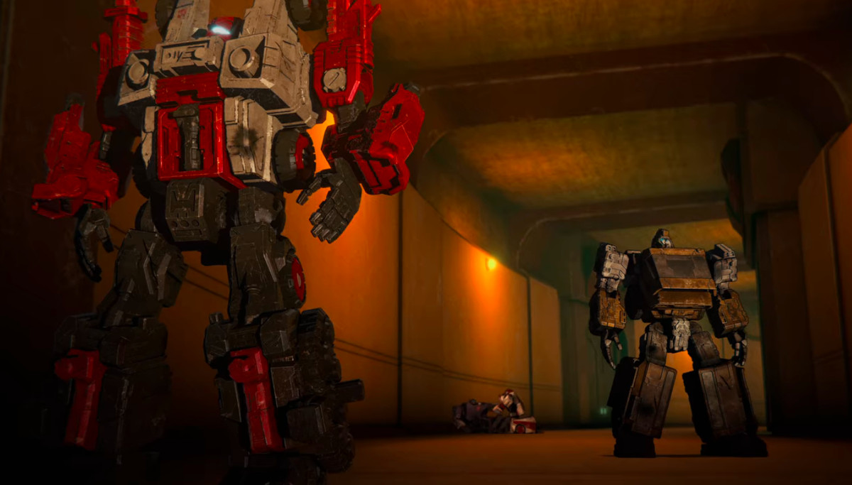 Red Cog in Transformers: War for Cyberton - Siege