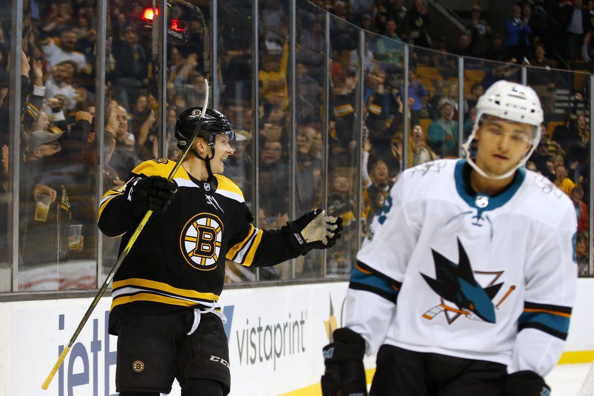 NHL: San Jose Sharks at Boston Bruins