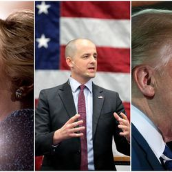 A new poll of Utah voters released Friday shows there's still uncertainty about the presidential race that could affect Republican Donald Trump's lead over independent candidate Evan McMullin and Democrat Hillary Clinton.