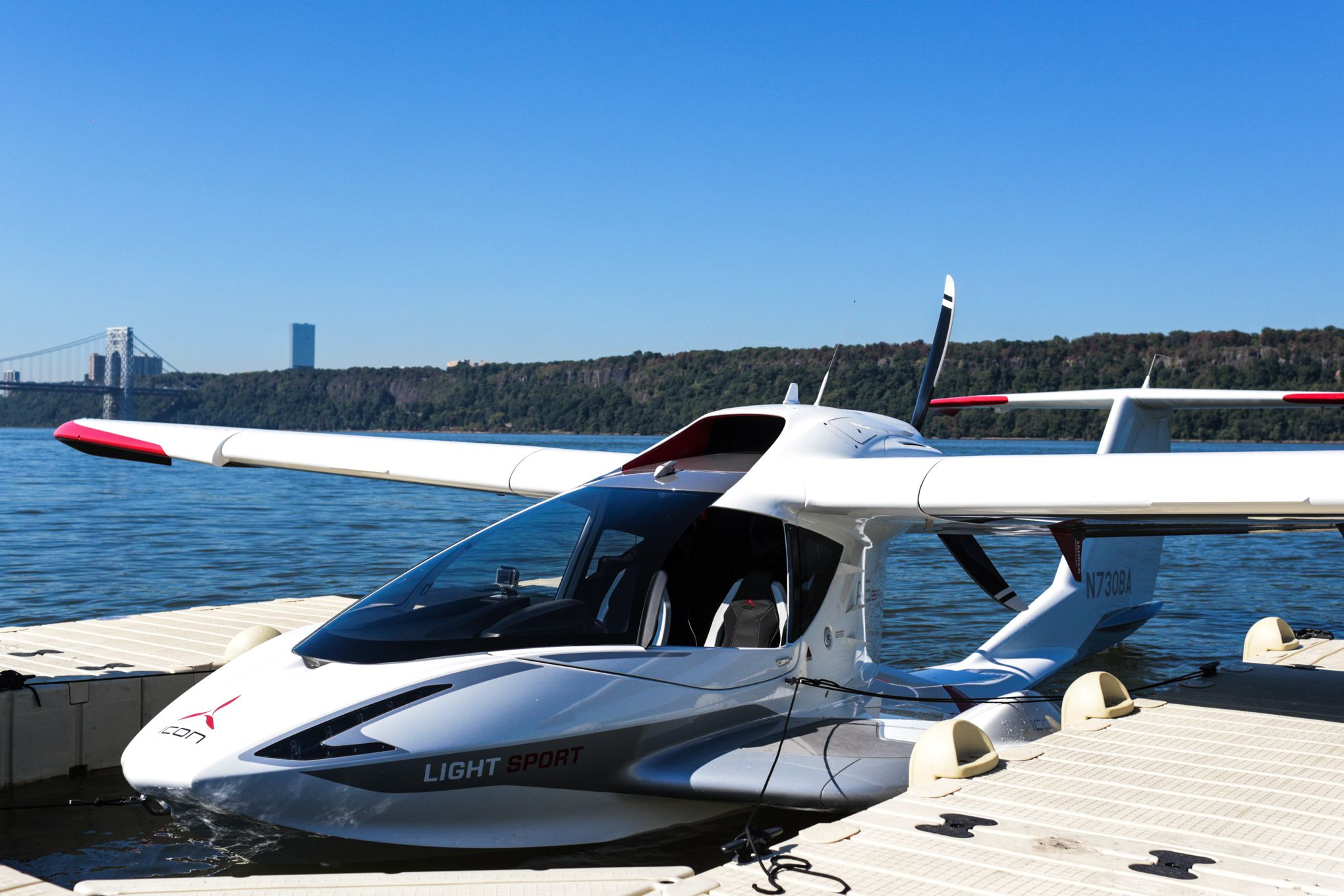 Flying the seaplane of the future, the Icon A5 | The Verge