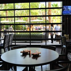 The dining room looking out at the patio at Culinary Dropout. Photo by Susan Stapleton