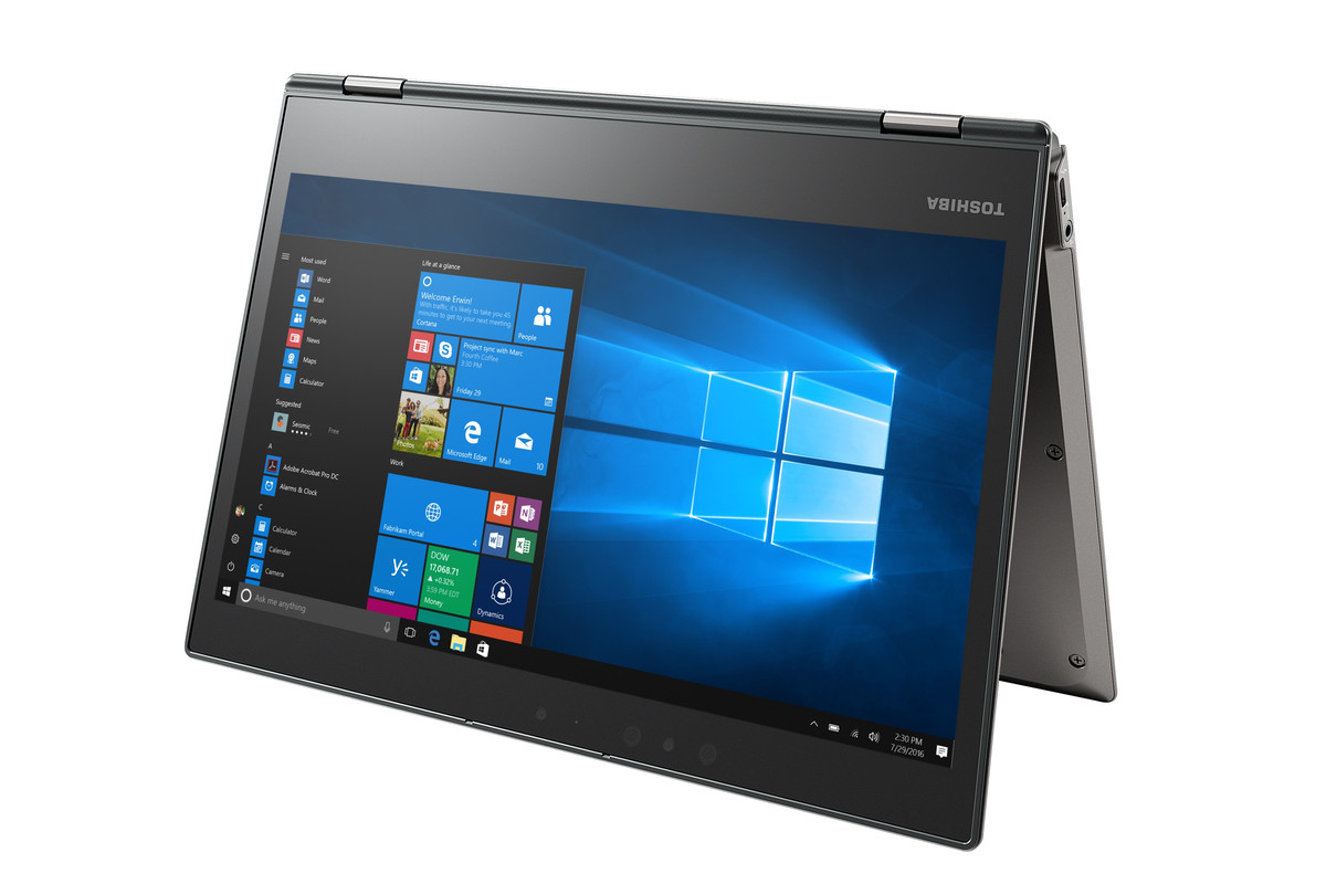 Toshiba S Portege X20w Is A Convertible Laptop That Claims To Get 16 Hours Of Battery Life The Verge