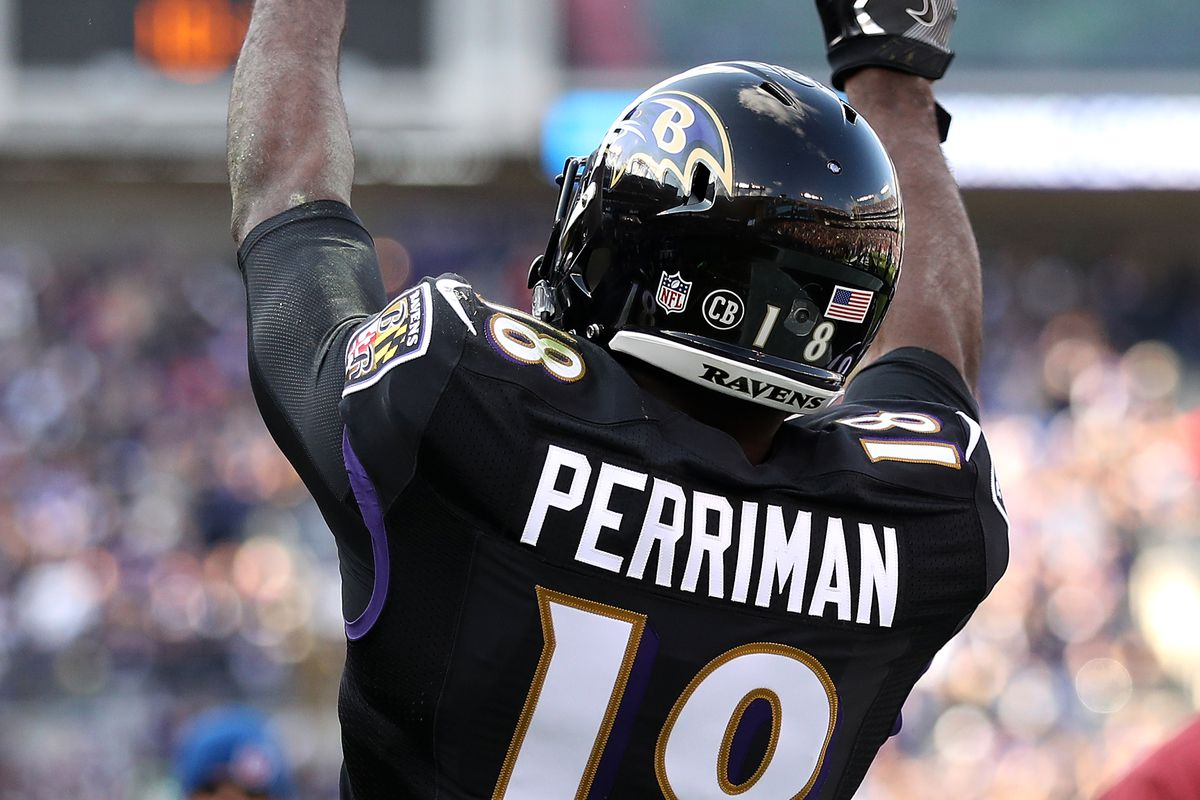 hot sale online 8d8a7 09848 Why Ravens WR Breshad Perriman can live up to the hype ...