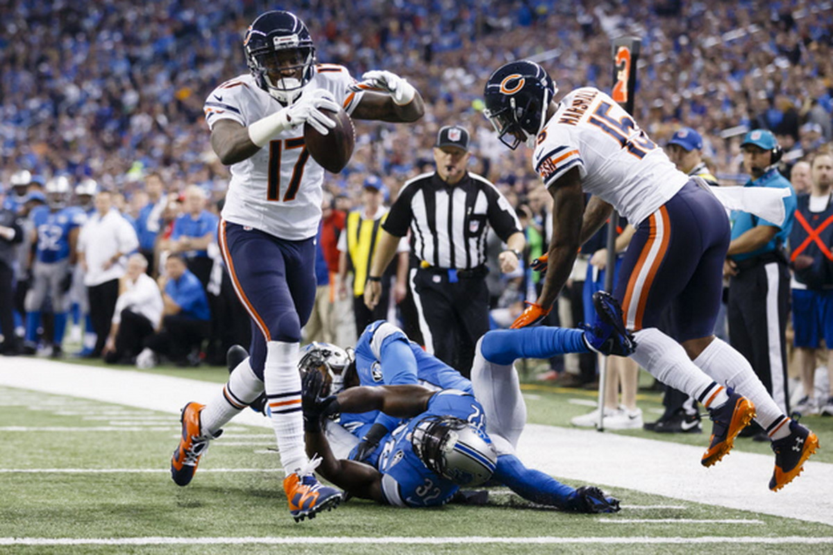 best loved d90ec 02c89 Alshon Jeffery intends to be top WR, but Bears looking for ...