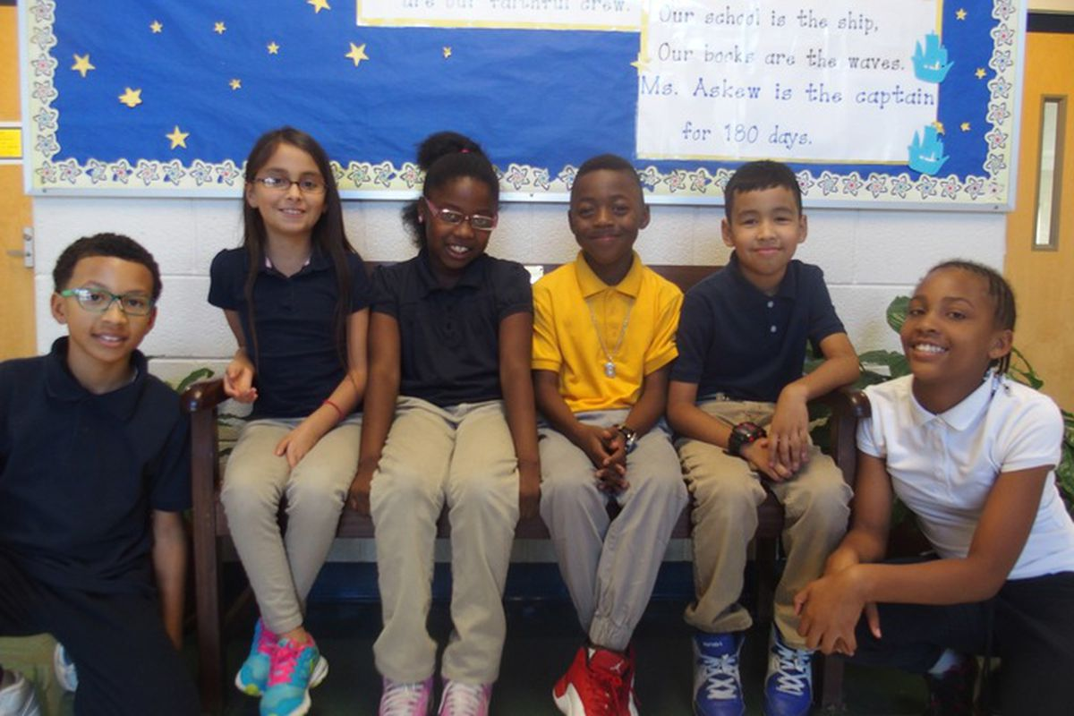 Fourth- and fifth-graders at Brewster Elementary School in Memphis pause to share their thoughts about the election of Donald Trump as America's next president.
