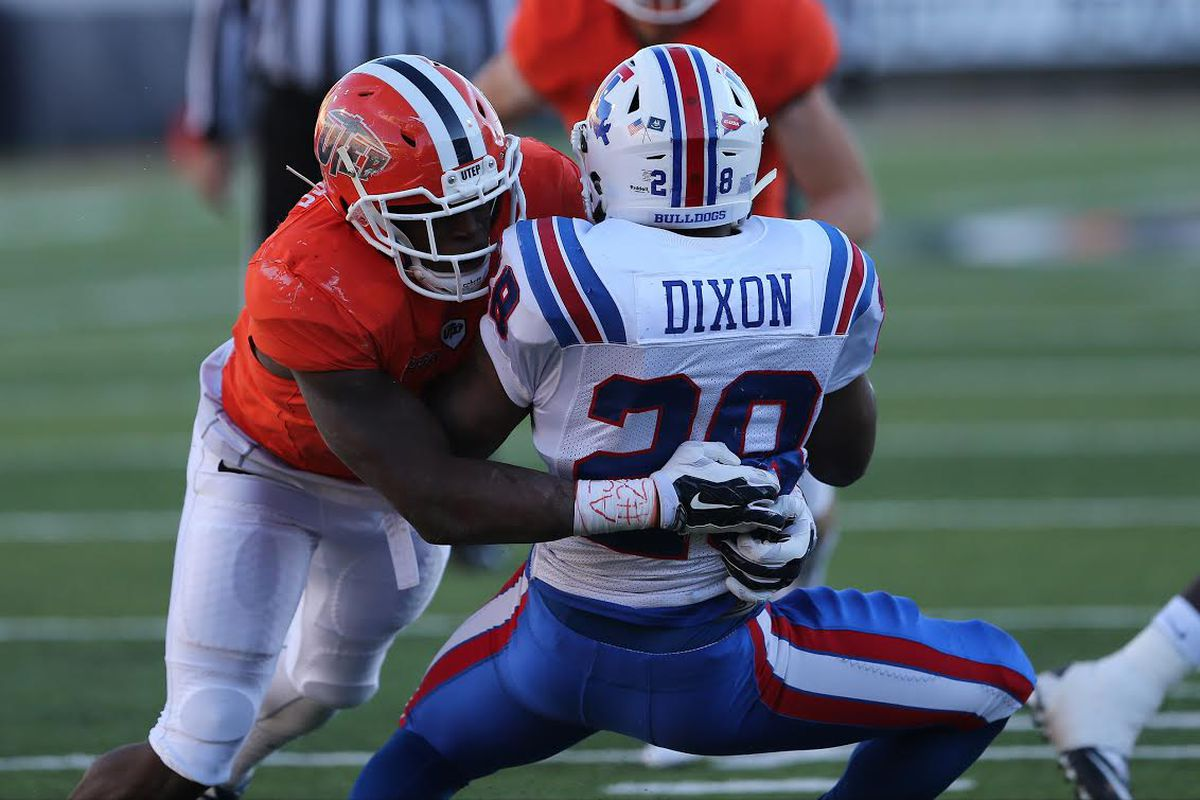 Alvin Jones feasted on Kenneth Dixon, Jacquez Johnson, and pretty much the entire C-USA