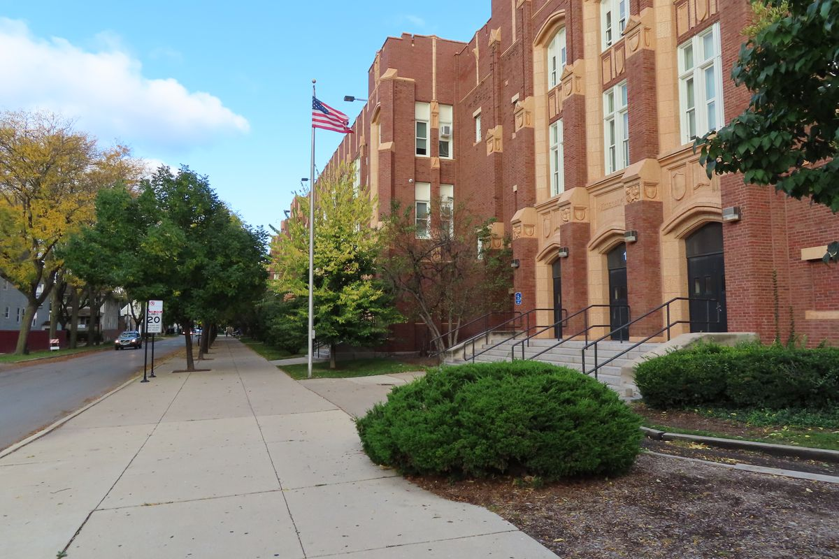 Roosevelt High School in Albany Park