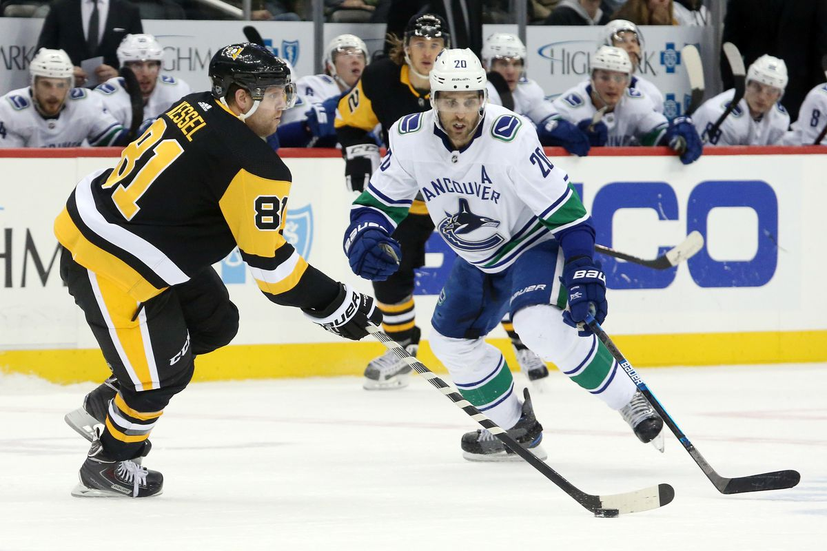 NHL: Vancouver Canucks at Pittsburgh Penguins