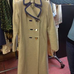 Dylan double breasted coat, $260