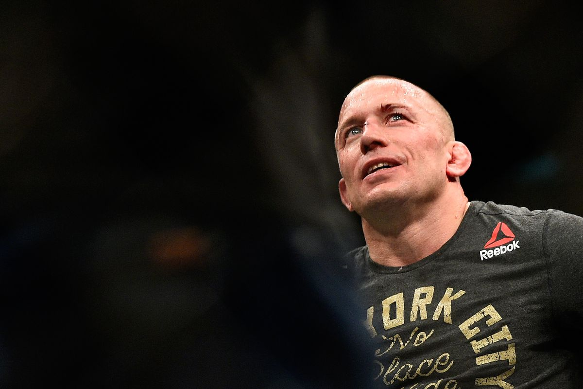 Georges St-Pierre speaks about his supposed boxing match against Oscar De La Hoya.