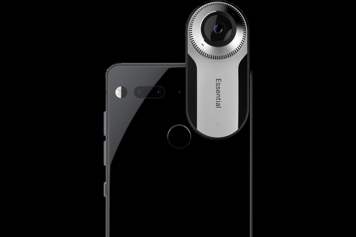c8b5b907c2b6c2 Essential's miniature 360 camera attaches to its new phone - The Verge