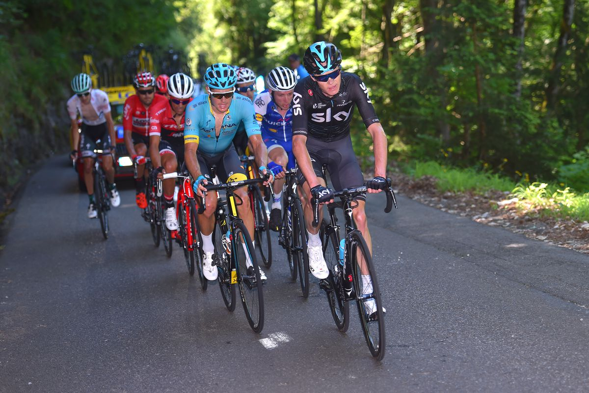 Froome and co Dauphine 2017