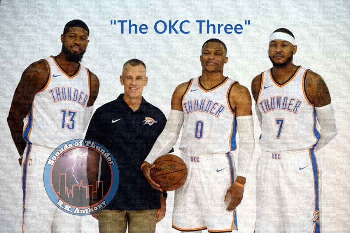 4e3563a118e1 Sounds of Thunder  Carmelo Anthony will make every Oklahoma City ...