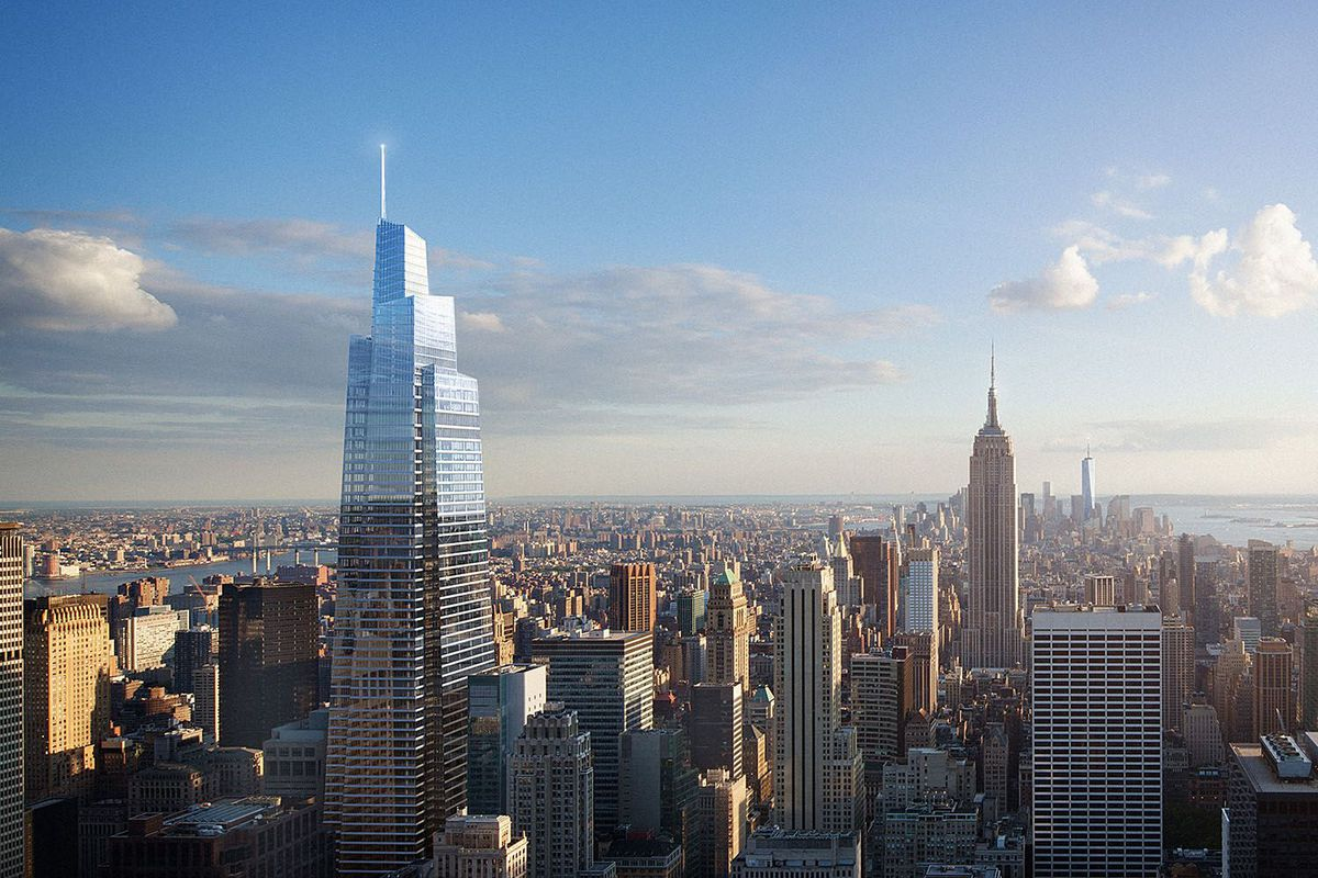 A Rendering Of The Supertall Building One Vanderbilt In New York City Courtesy SL Green