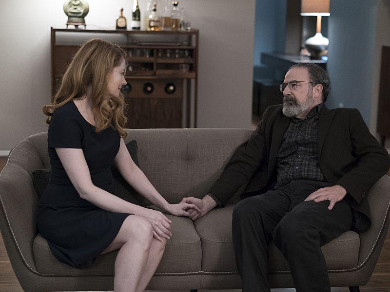 Saul and Allison on Homeland.
