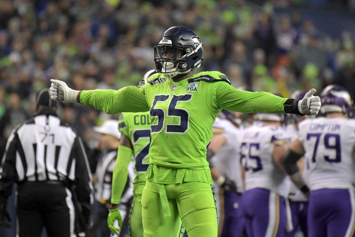 new concept 38f82 70df1 Seahawks Frank Clark delivers hard hitting correction of ...