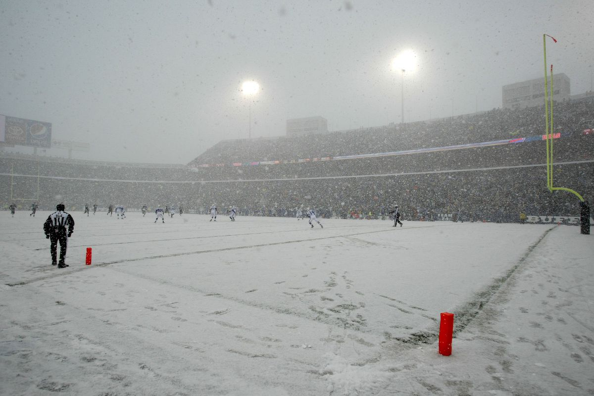 A Brief History Of The Coldest Games In Buffalo Bills Lore Buffalo Rumblings