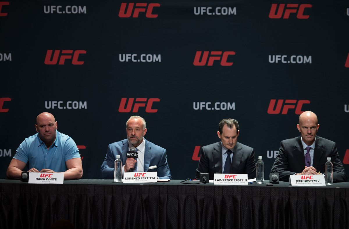 UFC Launches Anti-Doping Policy