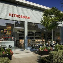 """Start your afternoon at high-roller haunt <a href=""""http://www.petrossian.com/"""">Petrossian</a> (321 N. Robertson Blvd.), known for their incredibly decadent <a href=""""http://la.eater.com/archives/2013/01/29/where_to_find_the_most_expensive_dishes_in_la.php"""""""