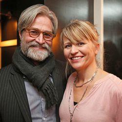 Photographer Jennifer Olson and her date, David Raccuglia