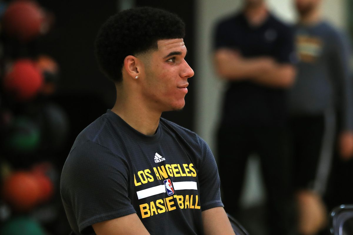 NBA Prospect Lonzo Ball Los Angeles Lakers Workout - Media Availability