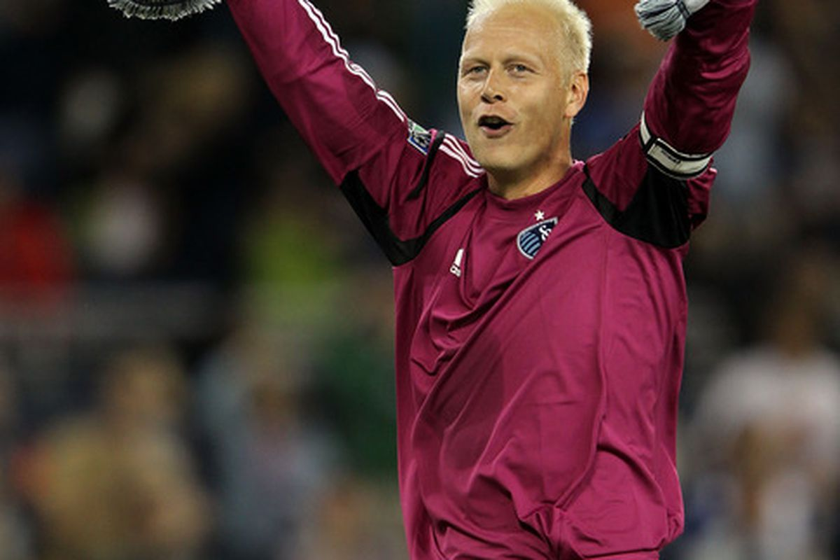 Yes Jimmy, Sporting KC is for real and still undefeated.   (Photo by Jamie Squire/Getty Images)