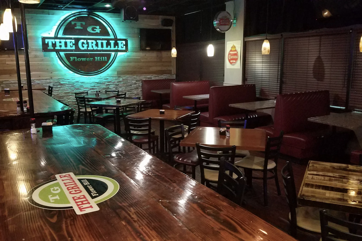 The Grille at Flower Hill has drawn criticism on social media for a post saying it would refuse to put employees in masks.