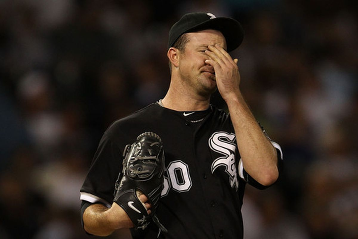 To the chagrin of White Sox fans, John Danks made this face a lot last season.