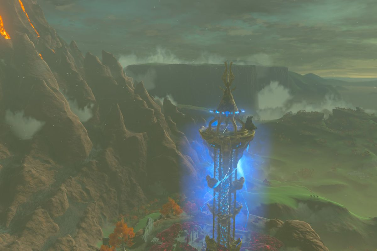 Breath of the Wild guide: How to climb Akkala Tower - Polygon