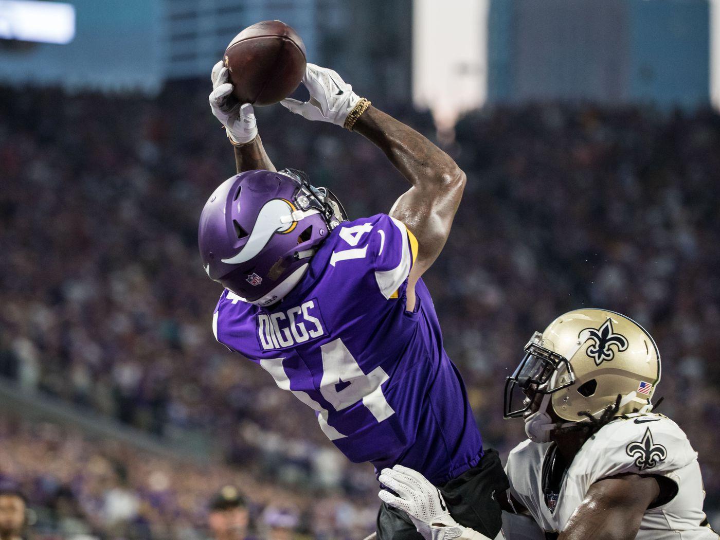 e6162126 New Orleans Saints at Minnesota Vikings: First Quarter Open Thread ...