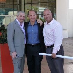 Jonathan Segal, Tom Recine and Jay Grisafi.