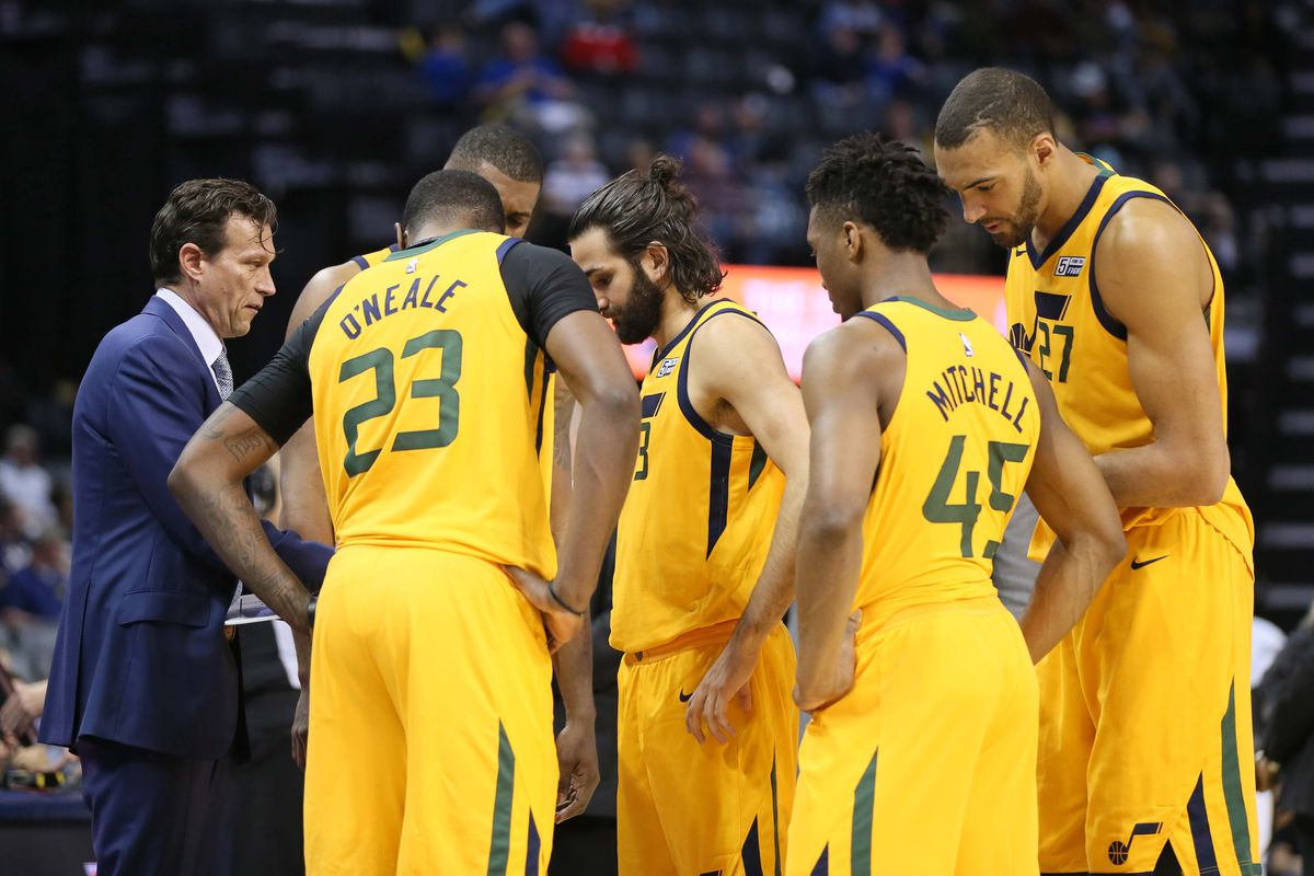 85162b55bec The Utah Jazz Roster is the definition of continuity - SLC Dunk