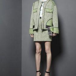 Crewneck coat, $585