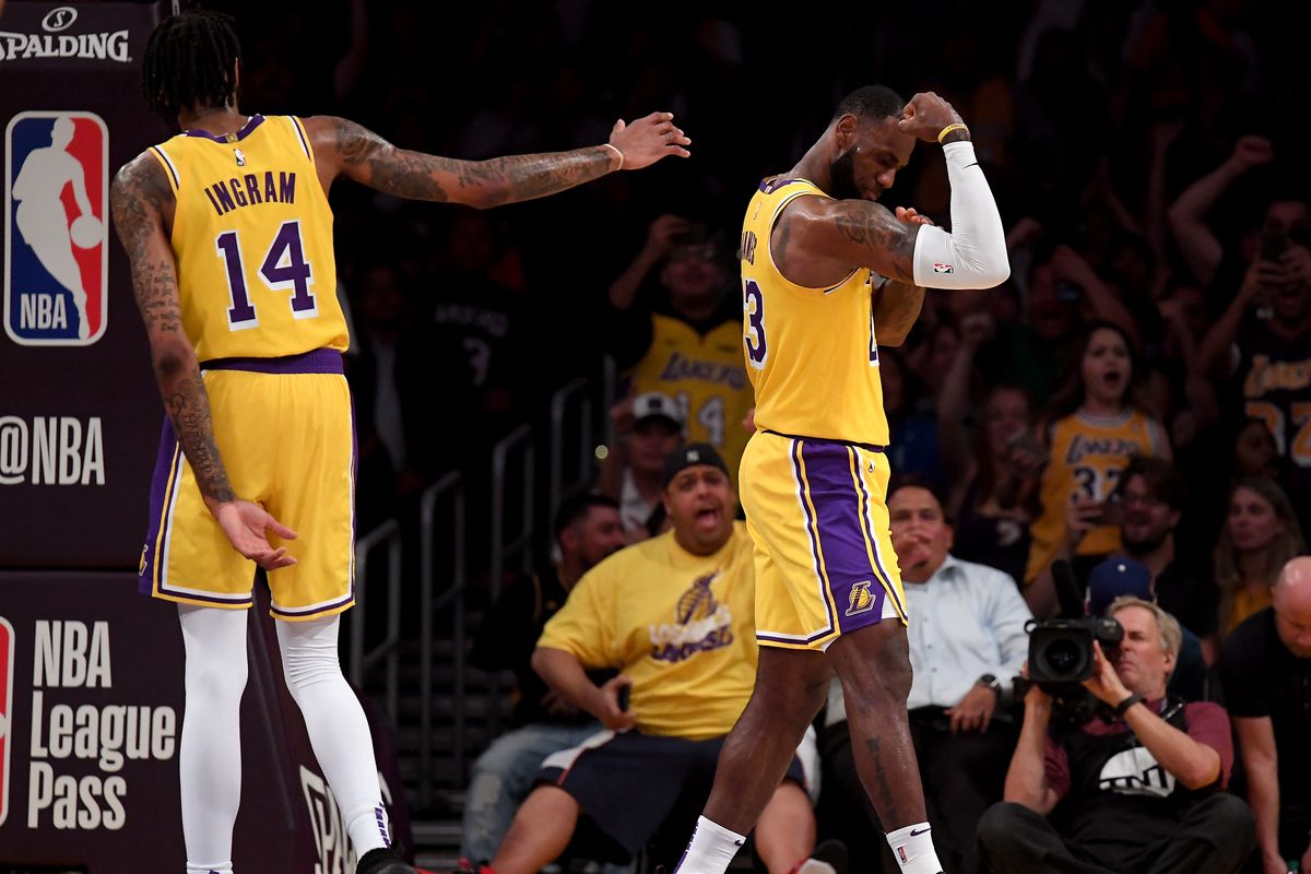 Lakers Lebron James Compares Brandon Ingram To Giannis