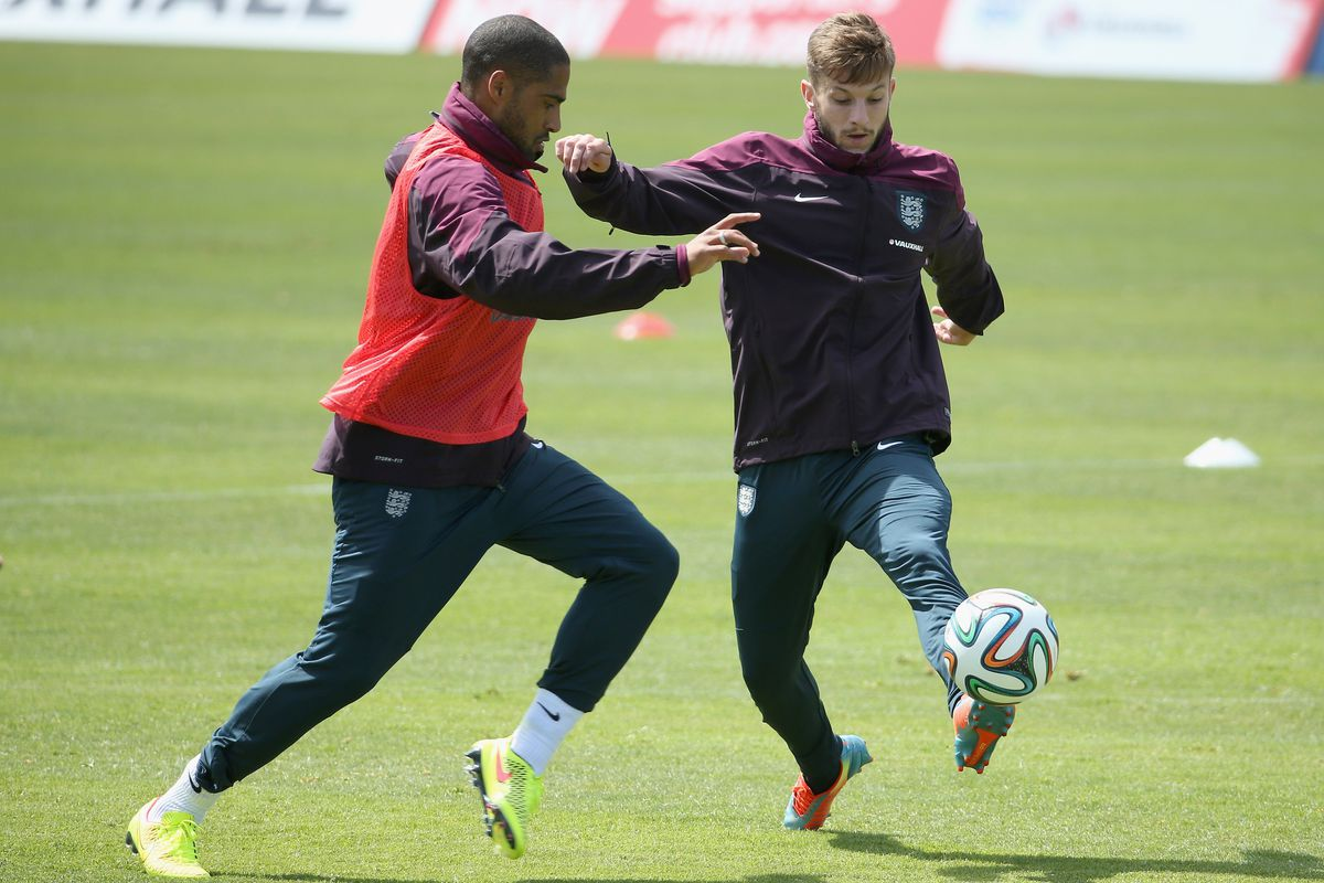 An England or Liverpool training session?