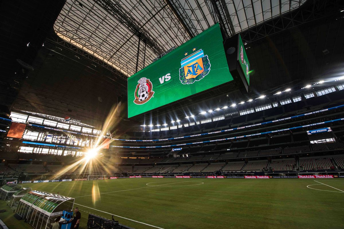 Soccer: Mexican National Team vs Argentina