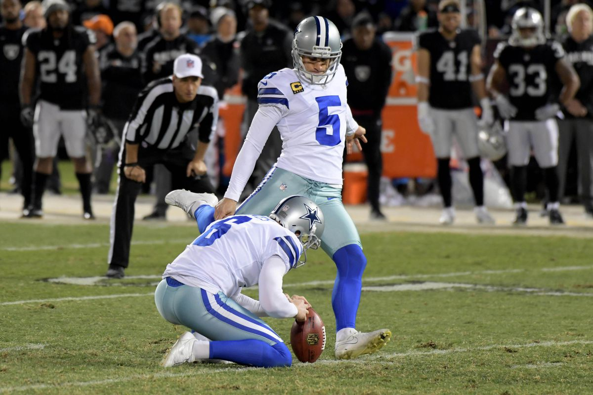 buy popular 40a69 52bcf Dan Bailey is next up to try to break the Vikings' 20-year ...