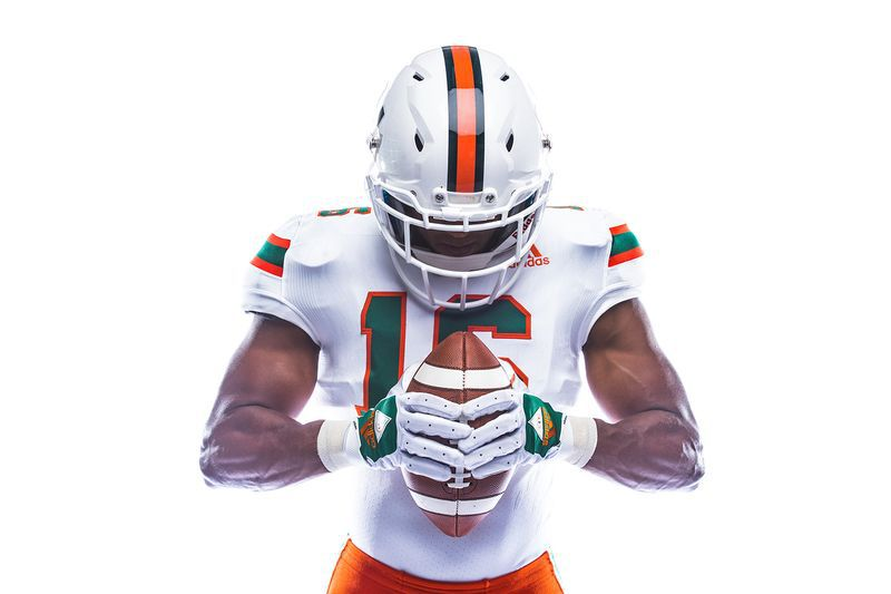 The Miami Hurricanes' throwback uniforms are too good to wear just