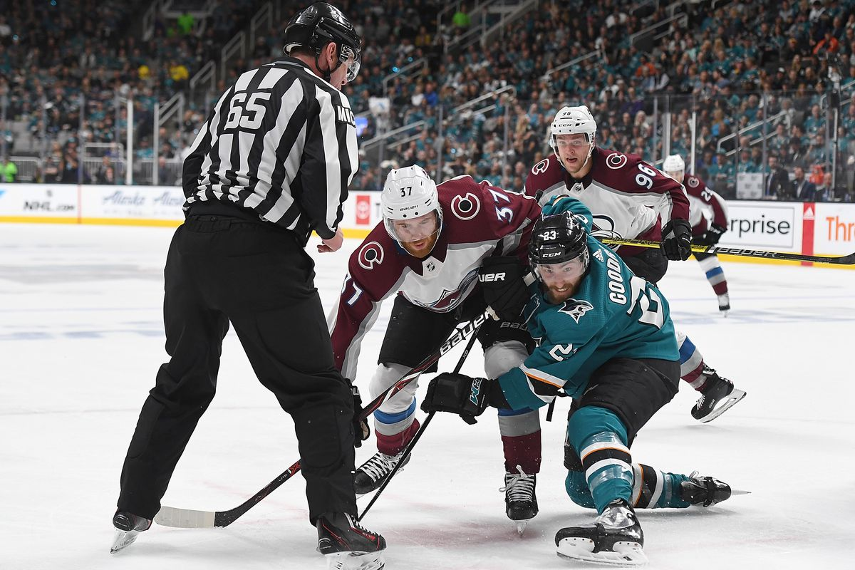 Colorado Avalanche 4 San Jose Sharks 3 Sharks Barrie D
