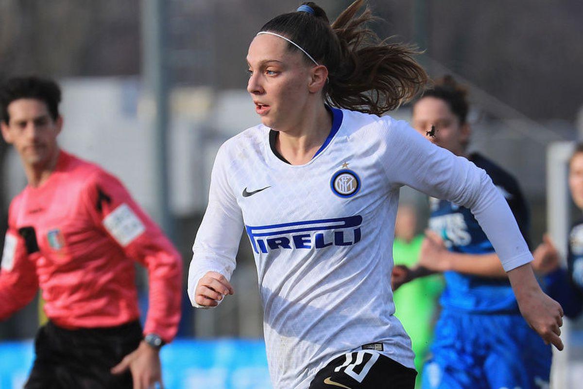 best service 377cb ea0df Inter Milan women cruise to 1-0 win over Cittadella ...