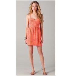 "<a href=""http://www.shopbop.com/polka-dot-bustier-mini-dress/vp/v=1/845524441931054.htm?folderID=2534374302202001&fm=other-shopbysize-viewall&colorId=10654""> State and Lake polka dot bustier mini dress</a>, $110 shopbop.com"