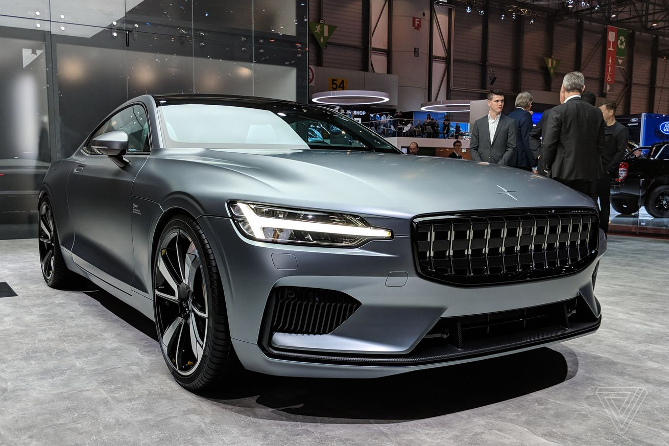 this is the polestar 1 volvo s new turbocharged electric coupe