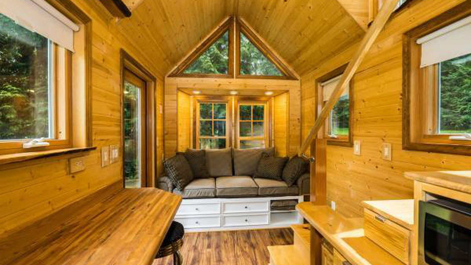 Tiny Home Designs: A Tiny House On Wheels Is Ready To Roll In La Conner
