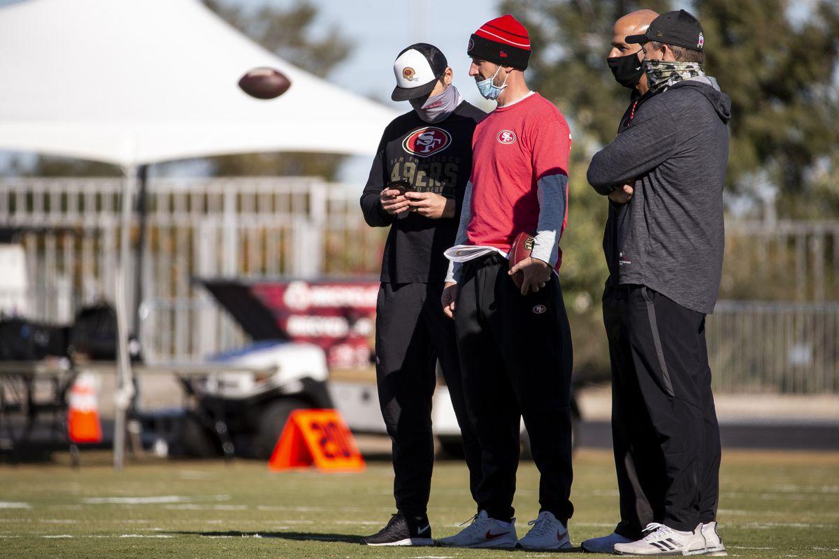 NFL: San Francisco 49ers Practice
